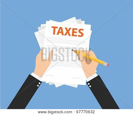 Taxes document