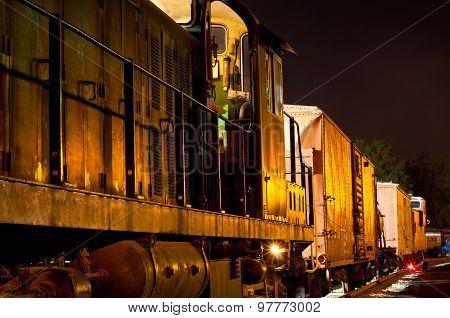 Golden Night Freight