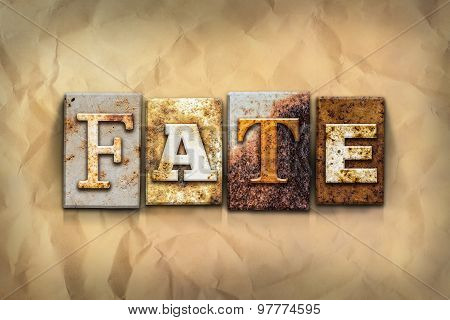 Fate Concept Rusted Metal Type