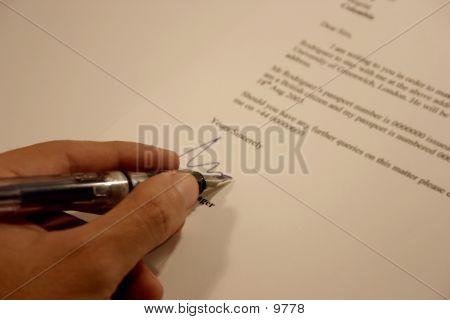 Letter Signature 2