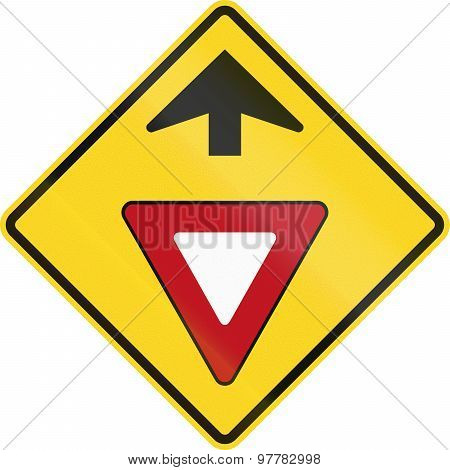Yield Ahead In Canada