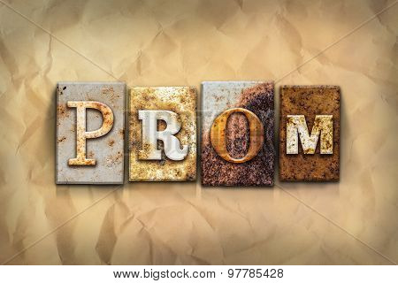 Prom Concept Rusted Metal Type