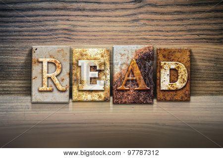 Read Concept Letterpress Theme