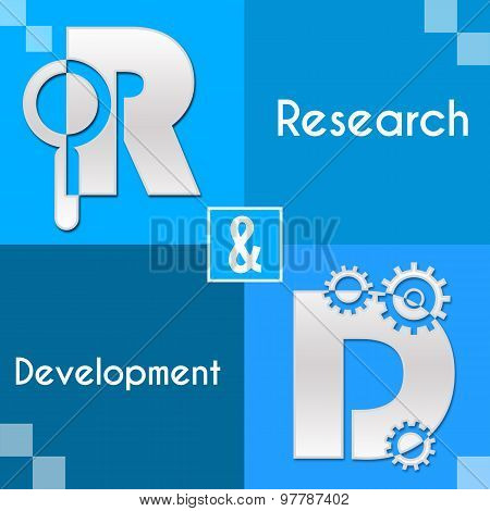 RnD Research And Development Four Blocks