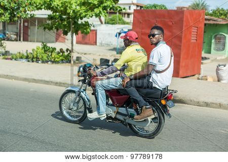 Motorcycle Taxi In Benin