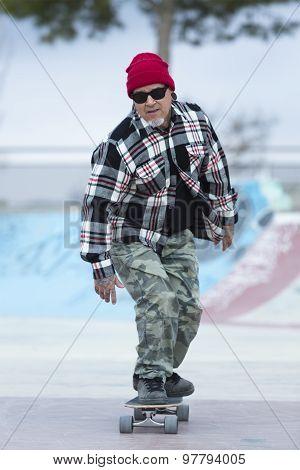Male Skater Skating