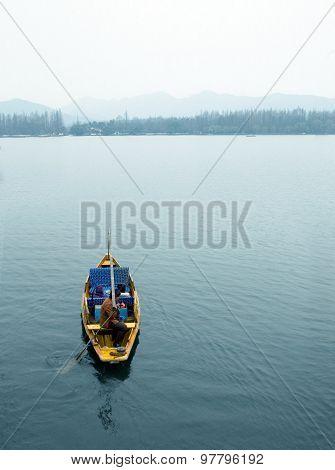 West Lake boat