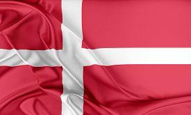 stock photo of flags world  - Denmark Flag - JPG