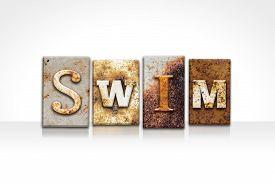 pic of swim meet  - The word  - JPG