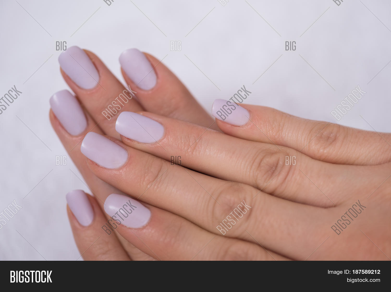 Beautiful fingers french manicure image photo bigstock for 33 fingers salon