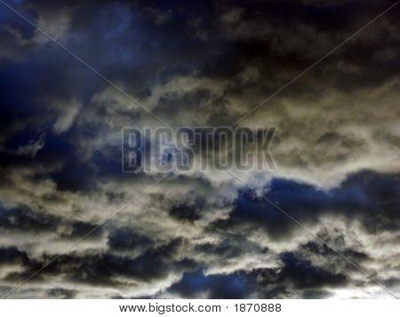 Abstract Dark Sky