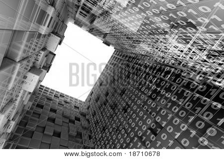 architectural 3d background