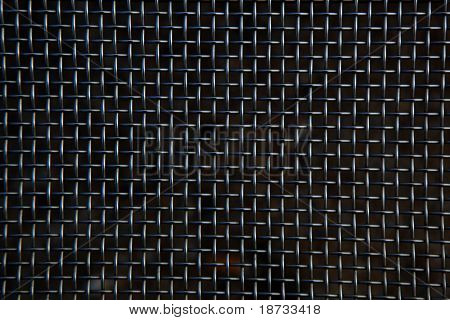 Seamless chainlink fence