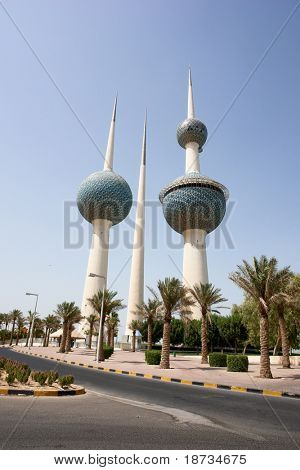 Kuwait Towers tagsüber
