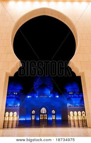 Abu Dhabi, UAE -Shaikh Zayed Mosque