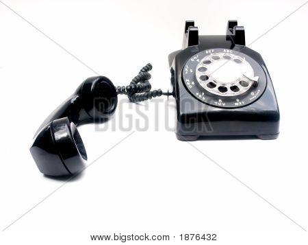 Retro Phone, Receiver Off The Hook