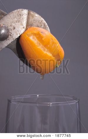 Squeezing An Orange