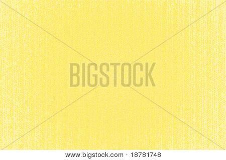 The yellow plastic corrugated invoice