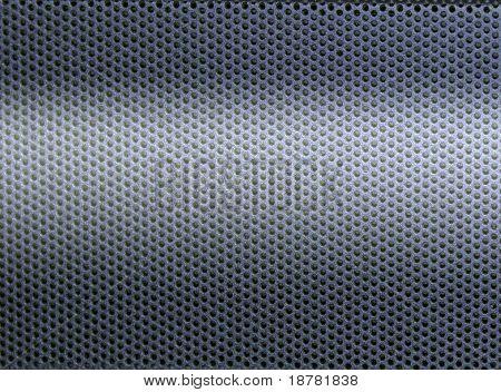 Blue cellular metal plate