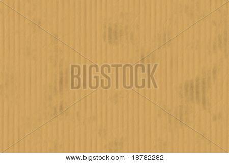 cardboard invoice