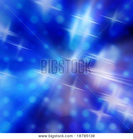streaks of light