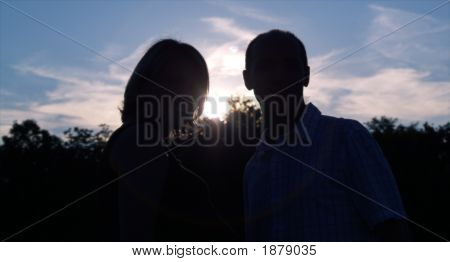 Couples Behind The Sun