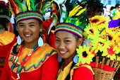 MANILA, PHILIPPINES - APRIL 24: Aliwan Festival, a yearly parade of cultural festivals that could be