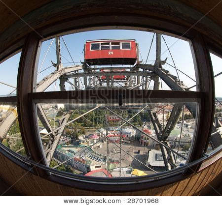 View from The Cabin of Prater Wheel
