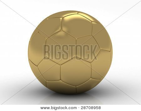 golden football- soccer ball