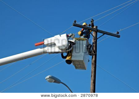 Power Line Reparatur