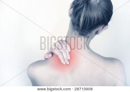 Dor de garganta aguda