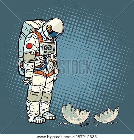 Guilty Astronaut Looks At The