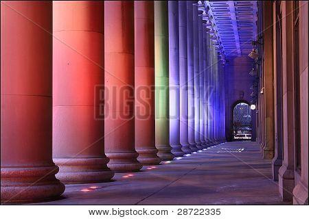 Colored Columns