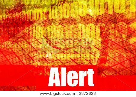 Alert Warning System Message