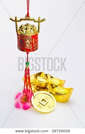 Gong Xi Fa Chai - Red Wealth Pot