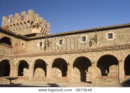 Castle Tower & Courtyard