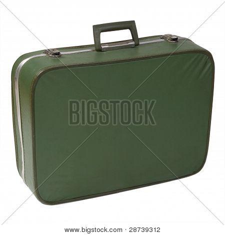 Worn Vintage Suitcase