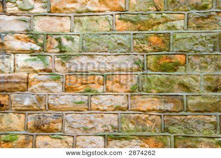 Cut Stone Wall