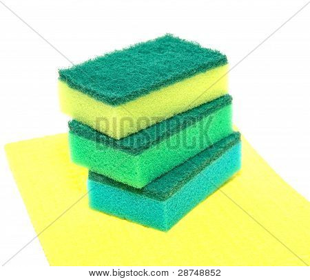Sponges For Washing Of Ware