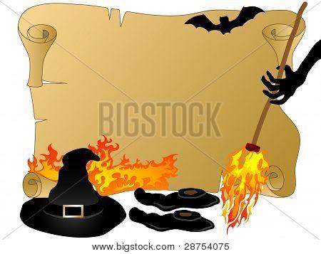 Halloween Parchment