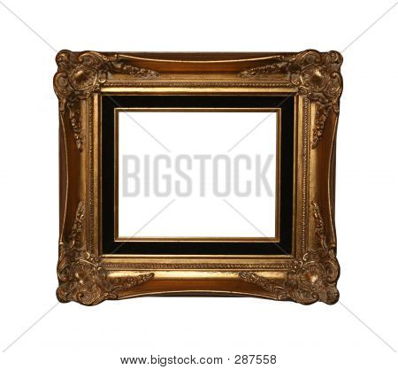 Antique Frame With Path