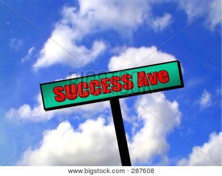 Sign - Success Avenue