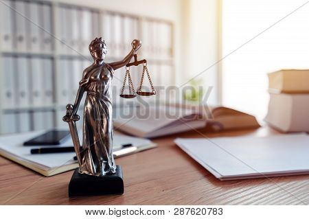 Lady Justice Statue In Law