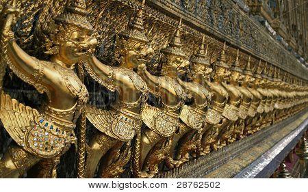 Garuda Decoration At Wat Phra Keaw