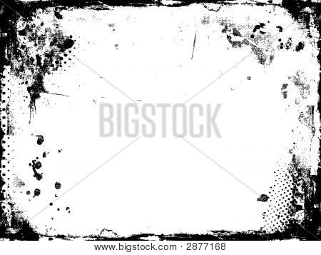 Detailed Grunge Border