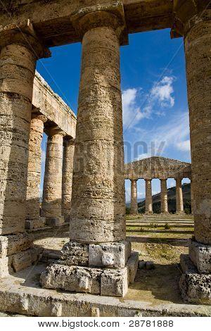 Doric Columns, Segesta, Sicily