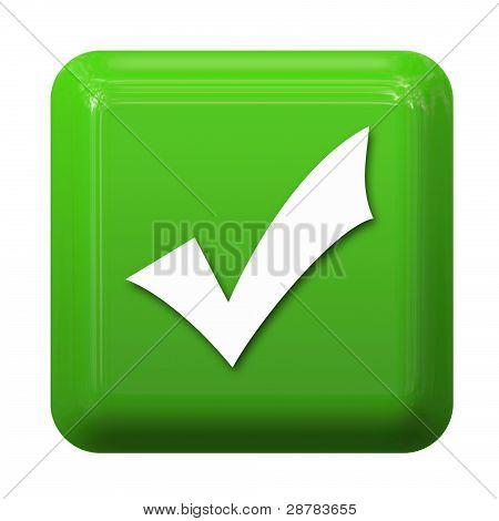 check sign button