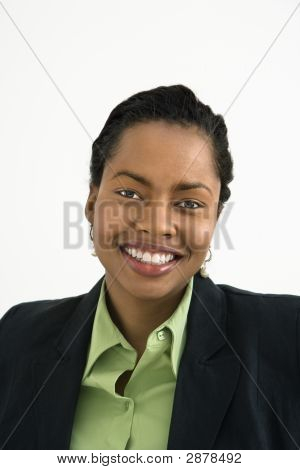 Smiling Businesswoman Portrait.