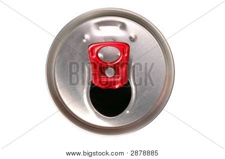 Close-Up Of Aluminum Drink Can
