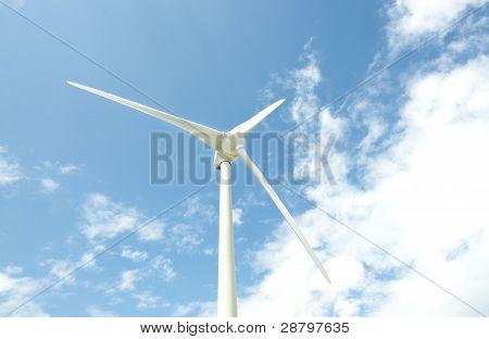 Wind power with sky